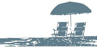 SVG > Stühle Sonnenschirm Strand Urlaub - Kostenloses SVG-Bild ...