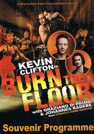kevin clifton in burn the floor 2019