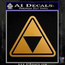Zelda Triforce Ot Decal Sticker A1 Decals