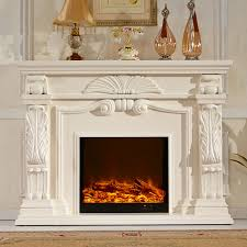 wood mantel w160cm electric fireplace