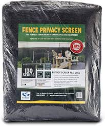 Amazon Com Fencescreen 6ft X 50ft Fence Windscreen Black 88 Blockage Privacy Screen Mesh Fence Cover 3 Year Warranty 155 Gsm Garden Outdoor