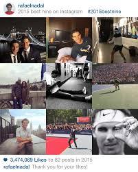 Rafael Nadal's Nine Best Instagram Pics of 2015 – Rafael Nadal Fans