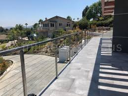 Matt S Stunning Cable Railing In Ca Modern Stainless Steel Cable And Glass Railing Inline Design