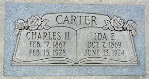Ida Carter (Atherly) (1869 - 1924) - Genealogy