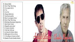 Adriano Celentano - Claudio Baglioni collezione di canzoni migliori -  YouTube