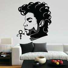 Prince Music Purple Rain Guitar Singer Love Vinyl Decal Wall Art Sticker Home Uk Ebay