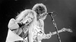 Eddie Van Halen and David Lee Roth made destructive magic - The Washington  Post