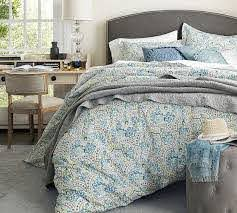 jessie scroll organic percale patterned