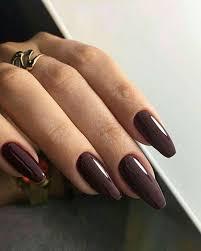 20 dark red acrylic nails 420 nail