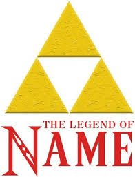 Personalized Legend Of Zelda Triforce Wall Decal Removable And Replaceable For Sale Online