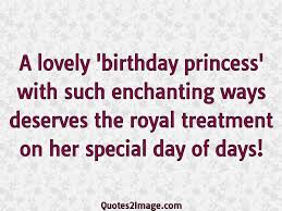 a lovely birthday princess birthday quotes image