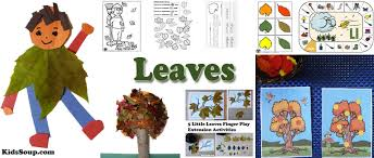 leaves pre activities and crafts
