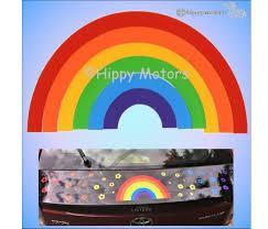 Rainbow Car Stickers