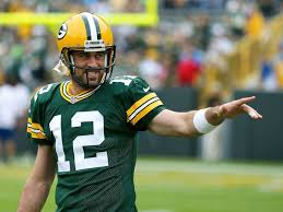 "Just like us, Aaron Rodgers is a really really big ""Game of ..."