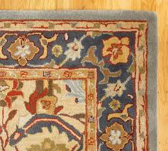eva persian style rug swatch pottery barn