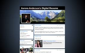 Aurora Anderson's Digital Resume by aurora anderson on Prezi Next