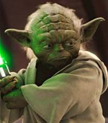 Yoda in Attack of the Clones