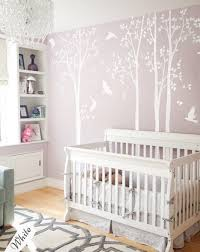 Long White Trees Wall Stickers Large Set Of Nursery Tree Etsy Birch Tree Wall Decal Tree Wall Decal Tree Wall