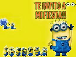 Invitacion Minions De Mi Villano Favorito Minions Tarjetas