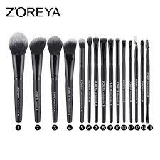 15 pcs zoreya fiber hair makeup