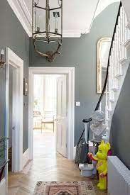 ever grey hallway design ideas