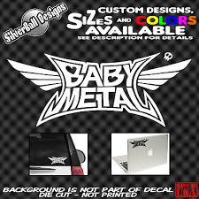 Babymetal Custom Vinyl Decal Sticker Car Truck Window Bumper Jrock Jpop Fox Jdm 2 99 Picclick