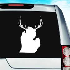 Michigan Deer Antlers Vinyl Car Window Decal Sticker Hunting Decals