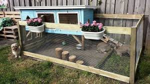 Pin On Diy Rabbit Hutch Outdoor