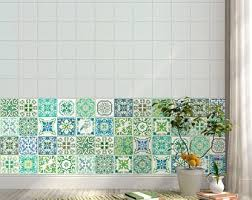 Turkish Tile Decal Etsy