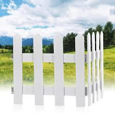 120cm Christmas Garden Picket Fence Border Edging Gardening Lawn Fencing Path Decorations Sale Banggood Com