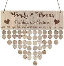 samoii wooden birthday reminder