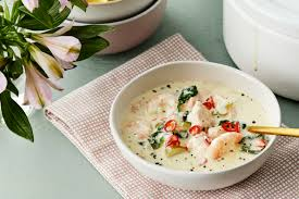 Easy Keto Seafood Chowder — Recipe ...