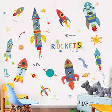 Rockets Wall Decals The Treasure Thrift