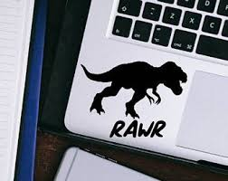 T Rex Sticker Tyrannosaurus Rex Dinosaur Vinyl Decal Laptop Decal Macbook Decal Car Decal Ipad Decal Tr Laptop Decal Unique Items Products Finding Yourself
