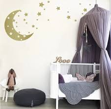 Moon And Stars Wall Decals The Decal Guru