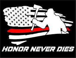 Firefighter American Flag Decal Sticker For Helmet Or Windows Honor Never Dies Cartattz In 2020 American Flag Decal Flag Decal Vinyl Decal Stickers