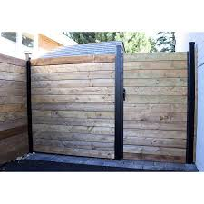Slipfence Slipfence Gate Kit 1 In Steel Painted Gate Kit Lowes Com Aluminum Fence Gate Aluminum Fence Wood Fence Design