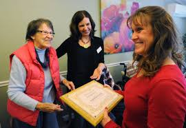Giving back: Harwich woman lauded for volunteering with seniors - News -  capecodtimes.com - Hyannis, MA