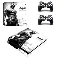 Batman Vinyl Decal Skin Ps4 Slim Sticker For Sony Playstation 4 Slim Console And Controller Stickers Consoleskins Co