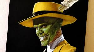 Jim Carrey as The Mask Drawing - YouTube