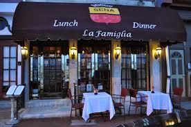 Food and Drink: La Famiglia