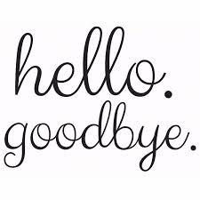Dwpk2013 Hello Goodbye Door Decal By Wallpops