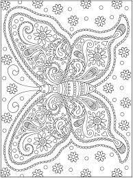 Dover Publications Colouring Pages Kleurplaten
