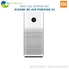 Máy lọc không khí Mi Air Purifier 2S kháng khuẩn lõi lọc hepa kết nối qua  app cảnh báo nồng độ bụi - Shop Thế giới điện