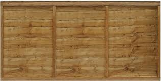 Waltons Est 1878 3x6 Wooden Fencing Panels Horizontal Overlap Construction Dip Treated With 10 Years Guarantee 3 X 6 3ft X 6ft 3 5 Day Delivery By Waltons Amazon Co Uk Diy Tools