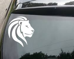 Rasta Zion Lion Decal For Car Home Window Bible Verse Decals Vinyl Decals Rasta Lion