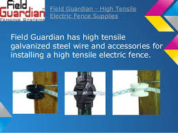 Electric Fence Www Fieldguardian Com