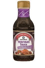 teriyaki sauce with roasted garlic