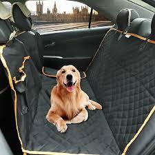 aitas pet dog car back seat cover