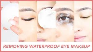 remove waterproof eye makeup